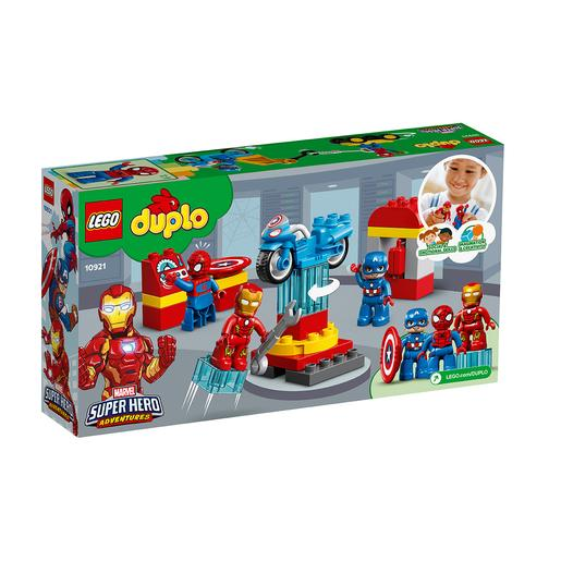 LEGO Duplo Superhéroes - Laboratorio de Superhéroes 10921