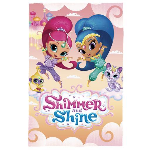 Shimmer y Shine - Manta Polar (varios modelos)