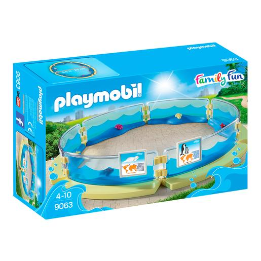 De Acuario Playmobil Piscina Playmobil 9063 vn0myw8NO