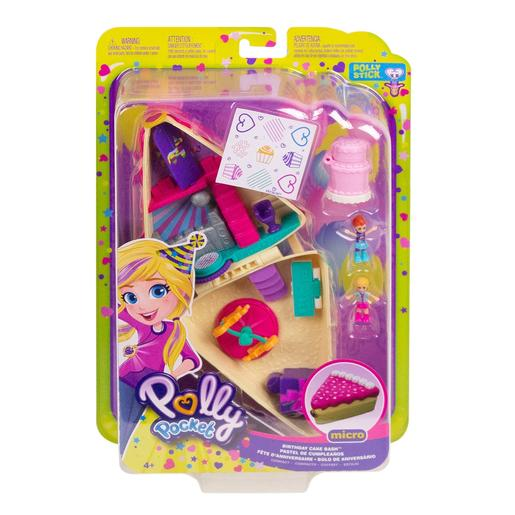 Polly Pocket - Cofre Tarta de Cumple