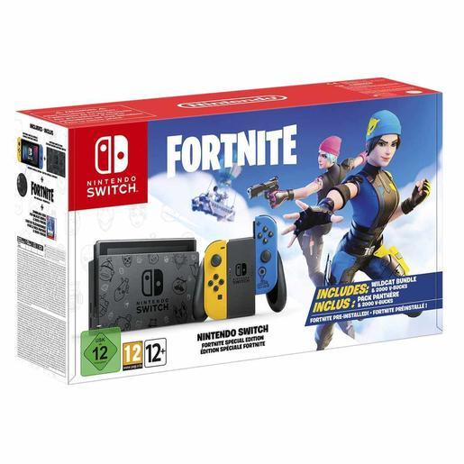 Nintendo Switch - Consola Edición Especial Fortnite