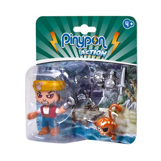 Pinypon Action - Pack Pirata y Mono