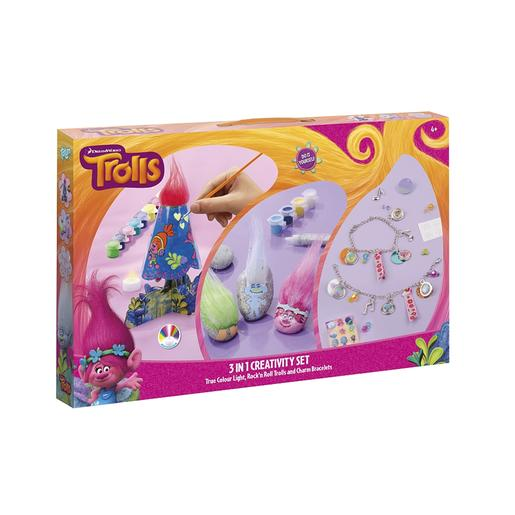 Trolls - Set Creativo 3 en 1