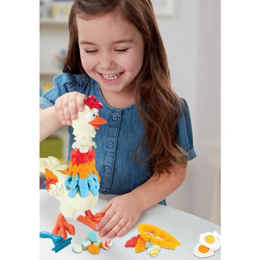 Play-Doh - Gallina plumas divertidas