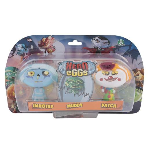 Hero Eggs Blister 3 Figuras
