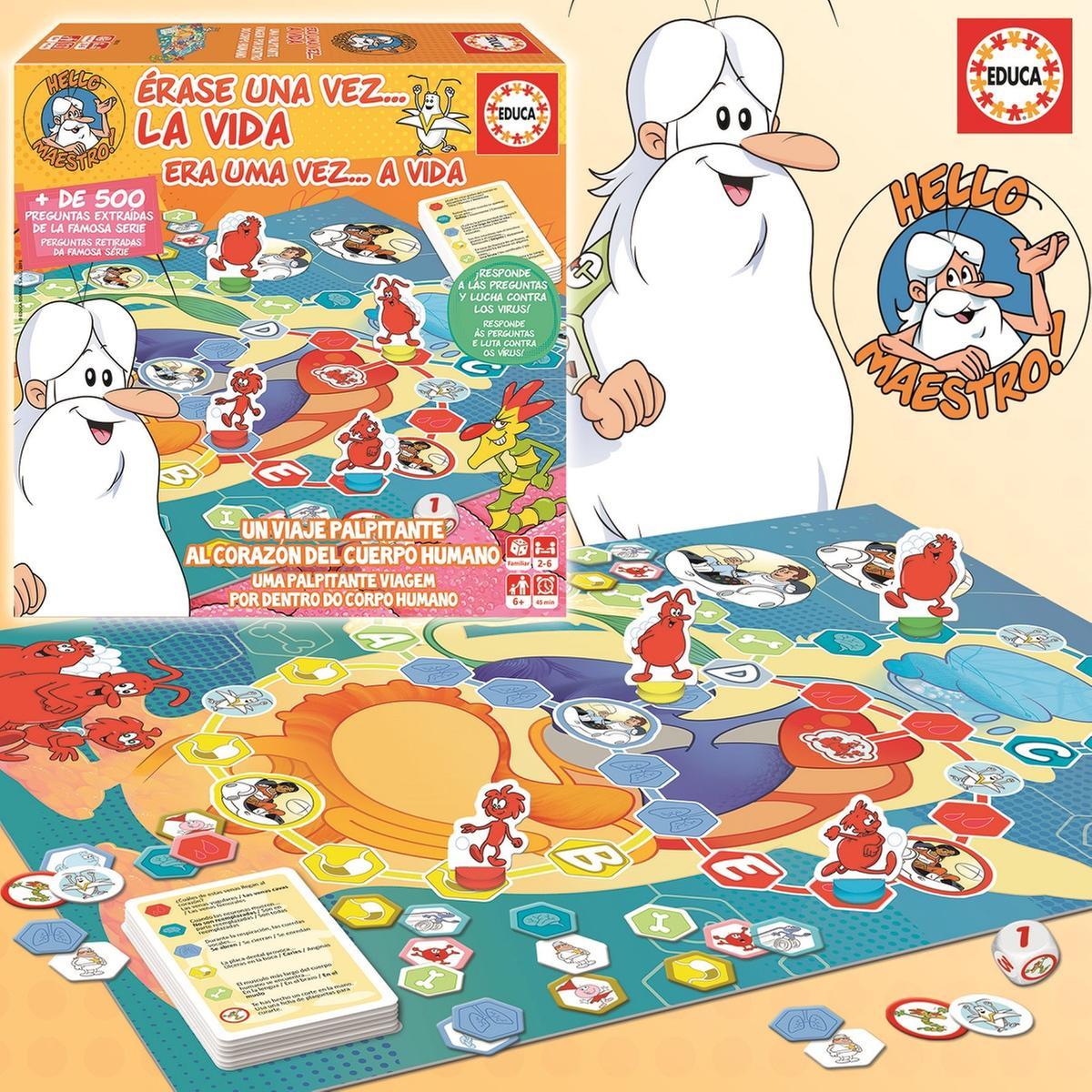 Educa Borras érase Una Vez El Juego De Mesa Educa Borras Tienda De Juguetes Y Videojuegos Juguetería Online Toysrus