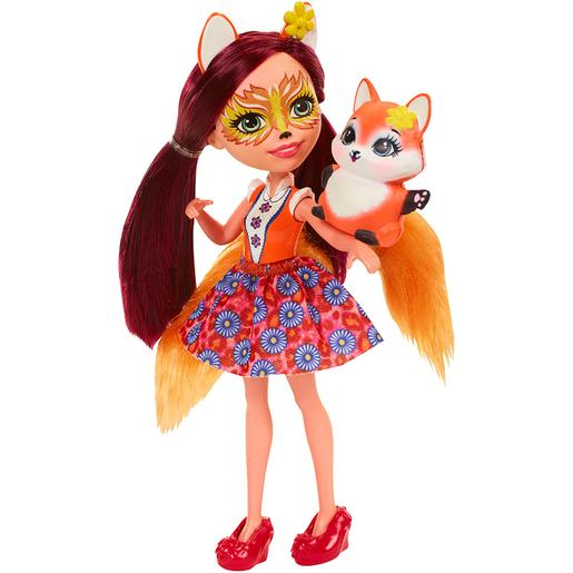 Enchantimals - Felicity Fox - Muñeca y Mascota