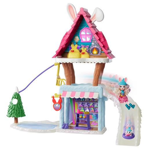 Enchantimals - Playset Chalet en la Nieve