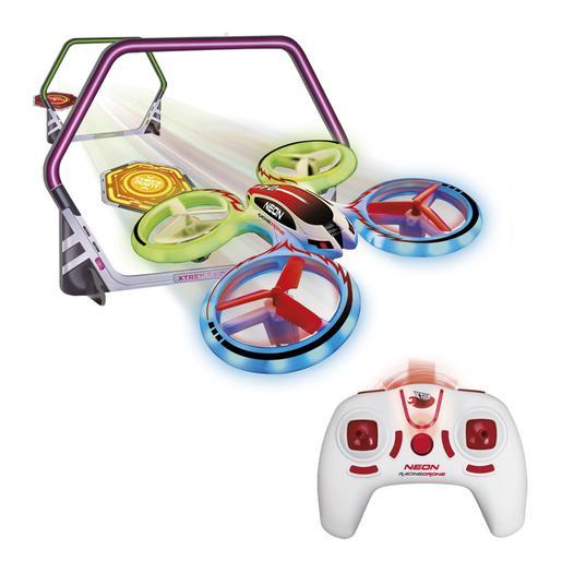 Xtrem Raiders - Dron Radio Control Neon Racing (varios colores)