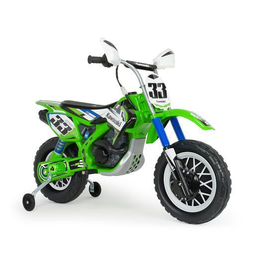 Injusa - Moto Cross Kawasaki a batería 12V (6835)