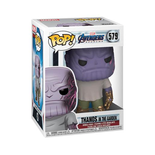 Los Vengadores - Thanos Bobble-Head Endgame in The Garden - Figura Funko POP