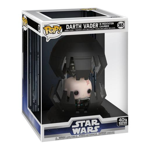 Star Wars - Darth Vader en Cámara de Meditación Bobble Head - Figura Funko POP