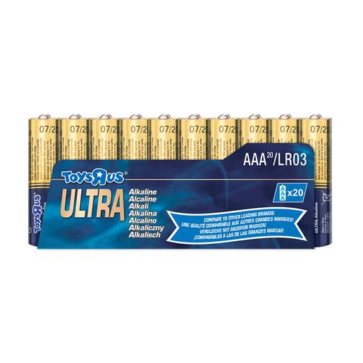 Ultra - Pack 20 Pilas AAA Ultra Alcalinas
