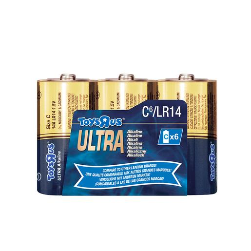 Ultra - Pack 6 Pilas C Ultra Alcalinas