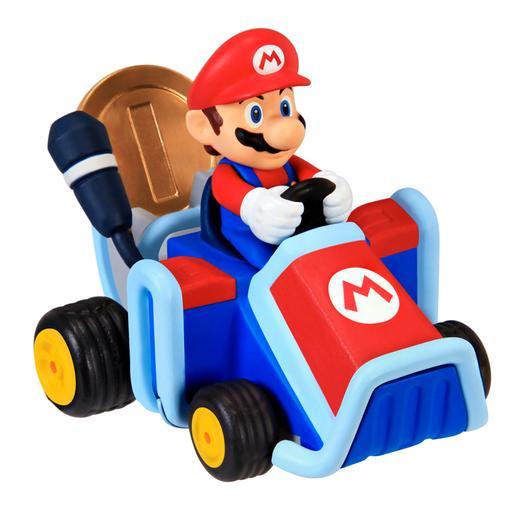 Super Mario - Figura Coin Racers (varios modelos)