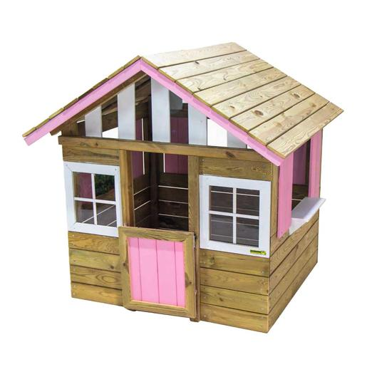 Casita madera Lollipop Rosa
