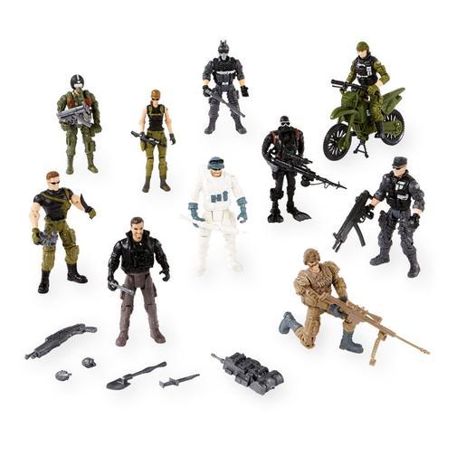 True Heroes - Pack de 10 Figuras Deluxe