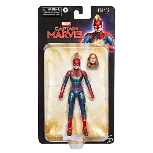 Capitana Marvel - Figura Legends Series