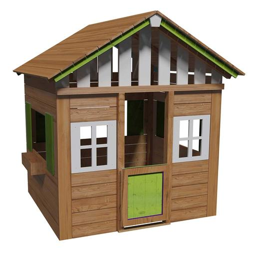 Casita madera Lollipop XL Verde