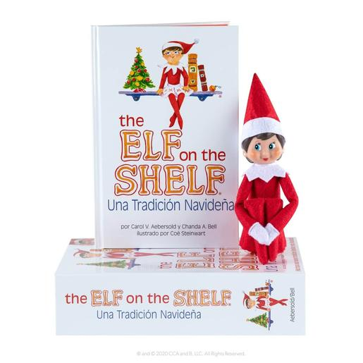 The Elf on The Shelf - Cuento y Muñeco Elf Chica