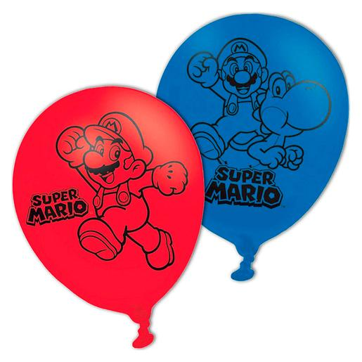 Super Mario - Pack 6 Globos