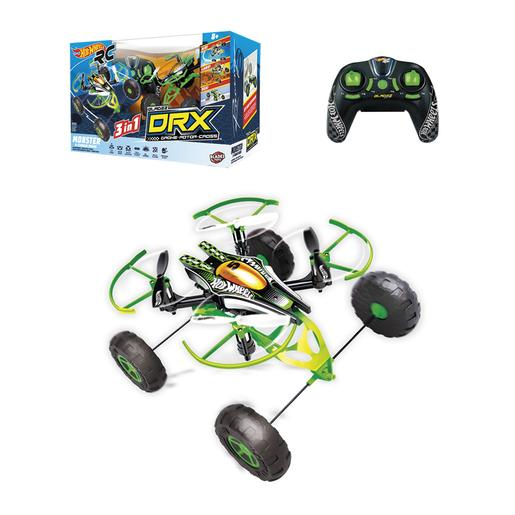 Hot Wheels - Set Dron Monster X Terrain Radiocontrol