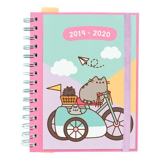 Pusheen - Agenda Escolar 2019-2020 - Bicicleta