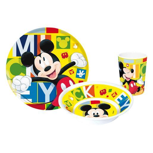 Mickey Mouse - Vajilla 3 Piezas