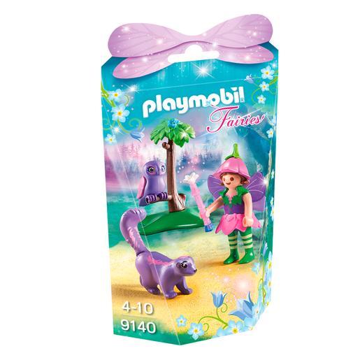 Playmobil - Niña Hada Con Búho - 9140