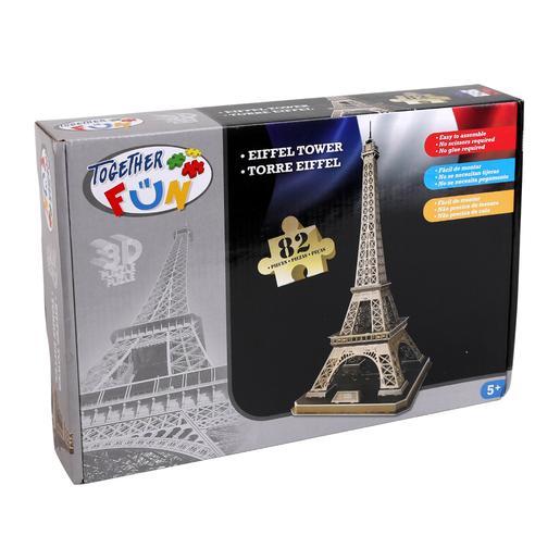 Puzzle 3D Torre Eiffel
