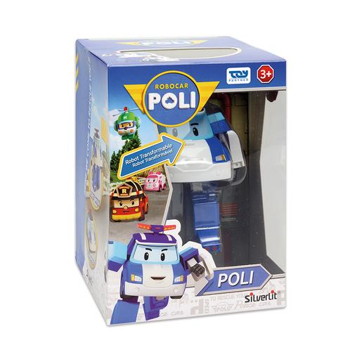 Robocar Poli Poli robot Transformable con luces