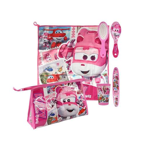 Super Wings - Set Comedor Rosa