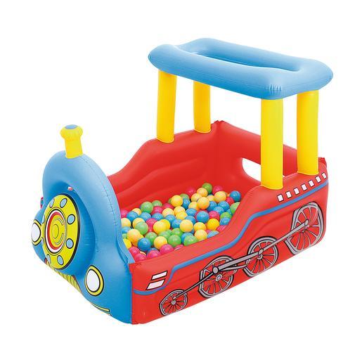 Bestway - Juego Infantil Tren Hinchable 137 x 99 cm