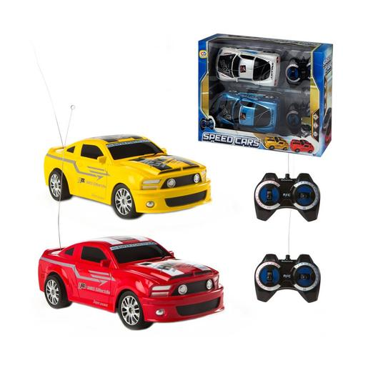 Set 2 Coches Radiocontrol Top Racers (varios modelos)
