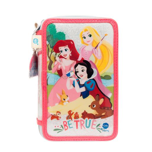 Princesas Disney - Estuche Triple