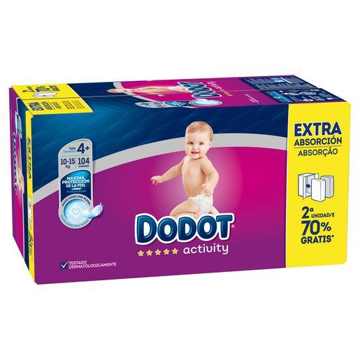foto Dodot - Box Ahorro Pañales Activity Extra T4 (10-15 kg) 104 Unidades