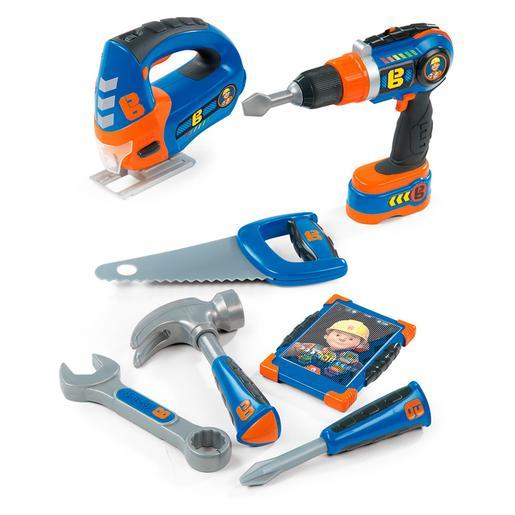 Bob el Constructor - Set 7 Herramientas