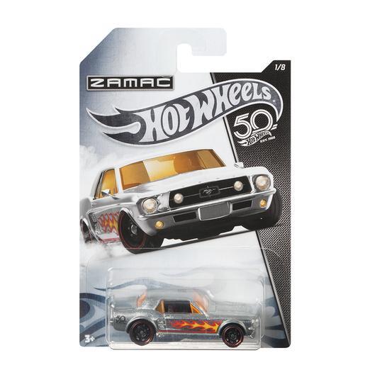 Hot Wheels - Coche 50 Aniversario Zamac (varios modelos)