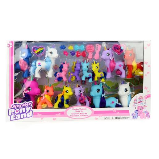 Wonder Unicorn Mega Set 14 Figuras