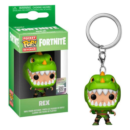 Fortnite - Rex - Llavero POP Pocket