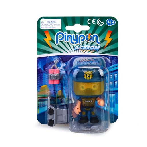 Pinypon - EOD - Figura Policía Especialista Pinypon Action