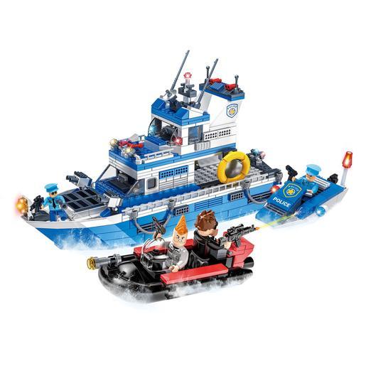 Pack Barco de Policía y Comisaría