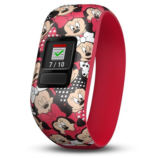 Minnie Mouse - Pulsera Vivofit Junior Roja