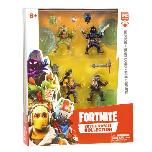 Fortnite - Pack 4 Figuras - Battle Royale Collection