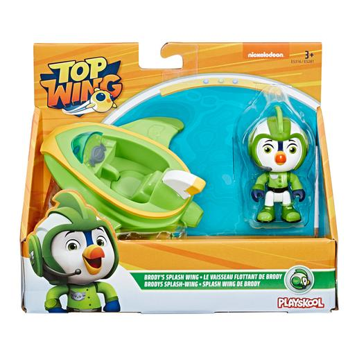 Playskool - Top Wing Brody - Figura y Vehículo