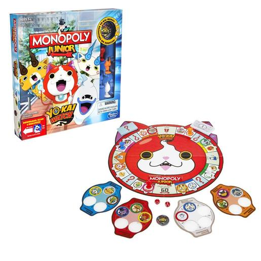 Yo-Kai Watch - Monopoly Júnior