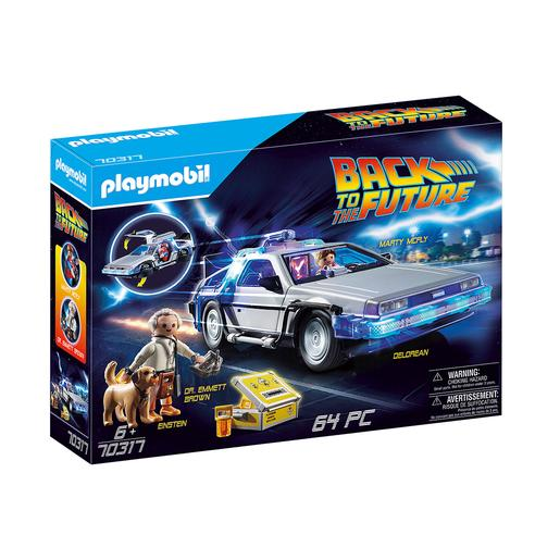 Playmobil - DeLorean Regreso al Futuro (70317)