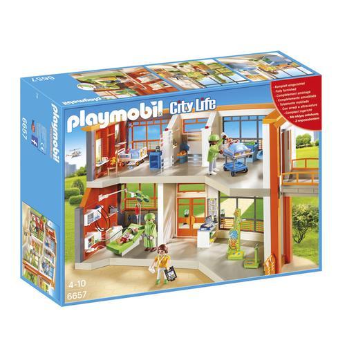 Playmobil - Hospital Infantil - 6657