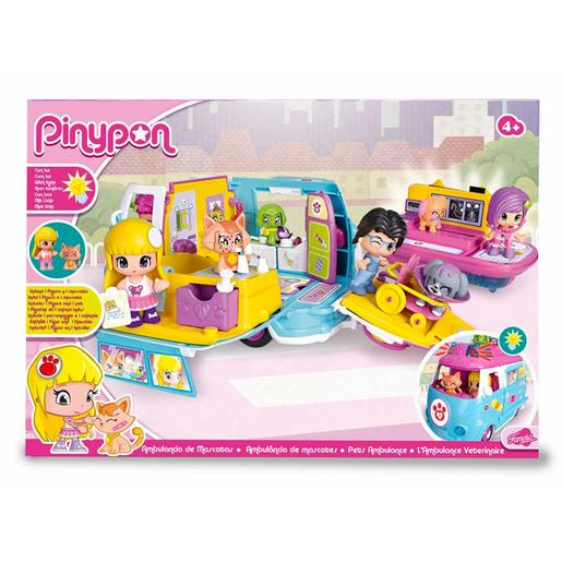 Pinypon - Ambulancia de Mascotas
