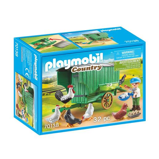 Playmobil Country - Gallinero - 70138